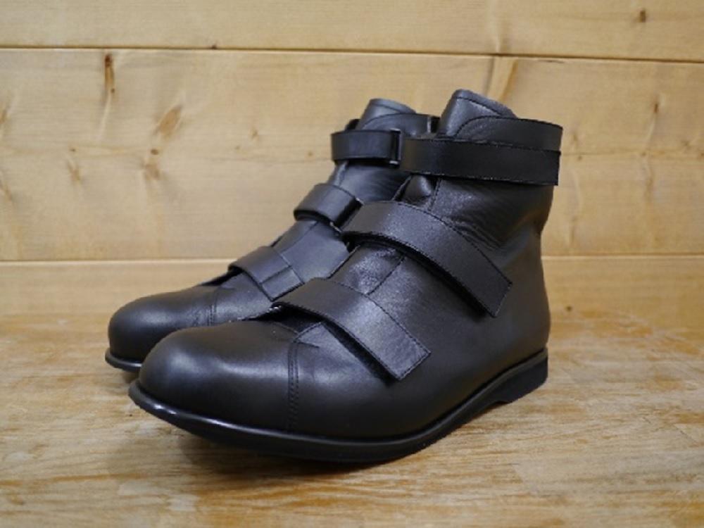 片麻痺 装具なしで履くブーツ