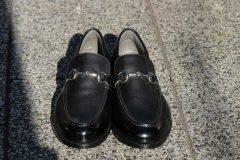インソール入りの紳士靴
