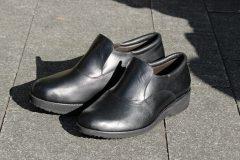 左右の高さが違う 紳士靴